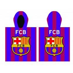 TOALLA CAPUCHA FC BARCELONA