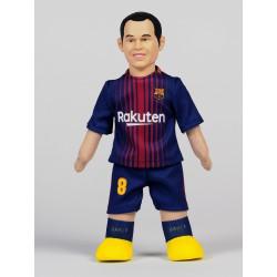 Muñeco de Iniesta - FC Barcelona